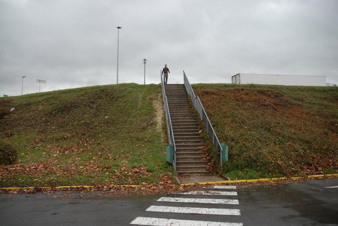 Le type de l'escalier