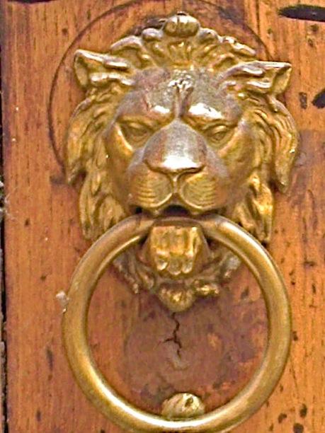 lion heurtoir 7