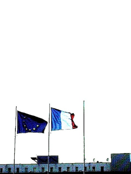 bureau #5 drapeaux