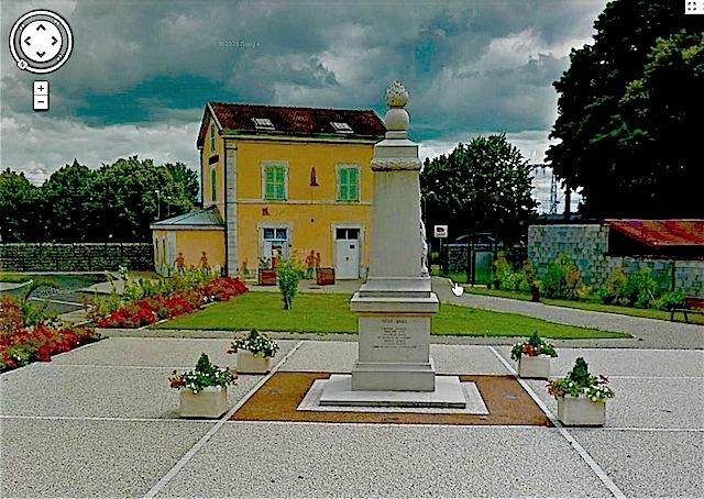congoloin la gare le monument aux morts