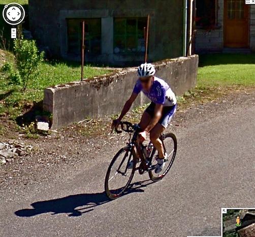 cycliste Fresse