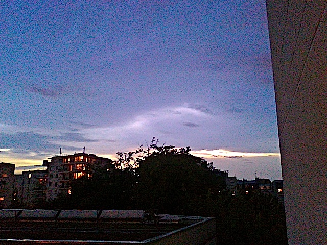 5 ciel soir
