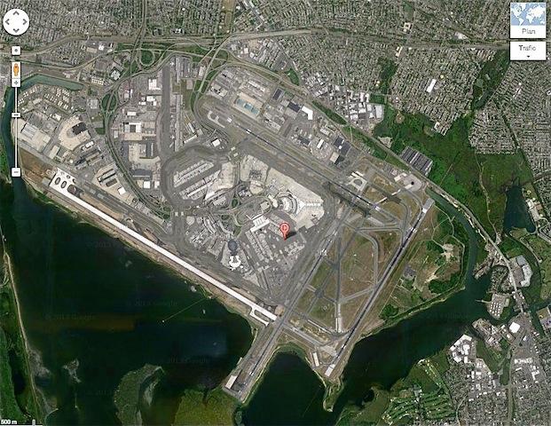 New York aéroport JFK