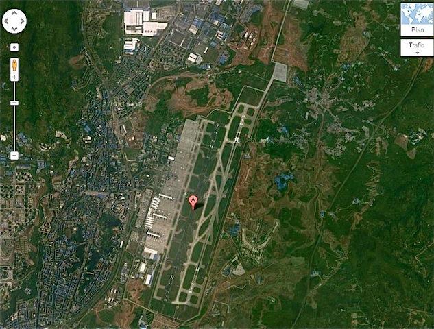 aéroport Chongqing