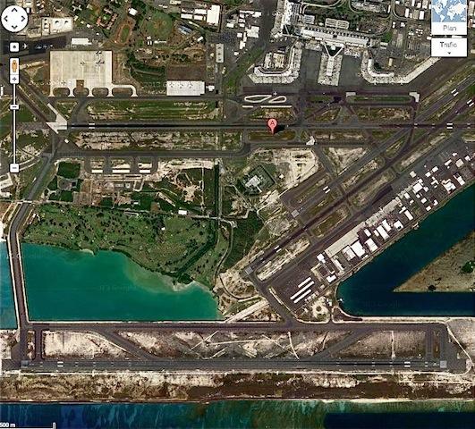 aéroport Hawaï 2 pistes