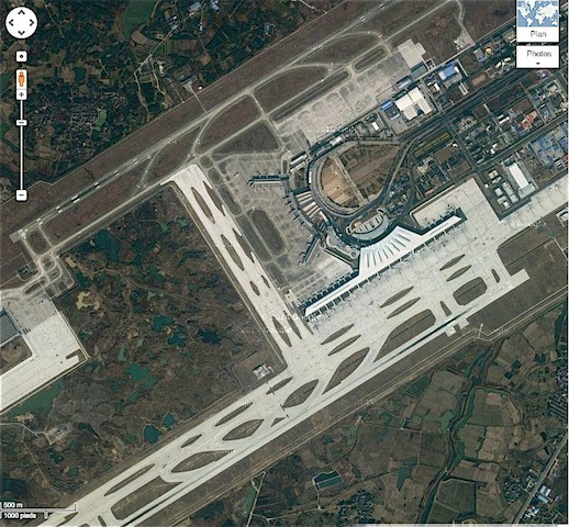 aéroport Nankin (chine)