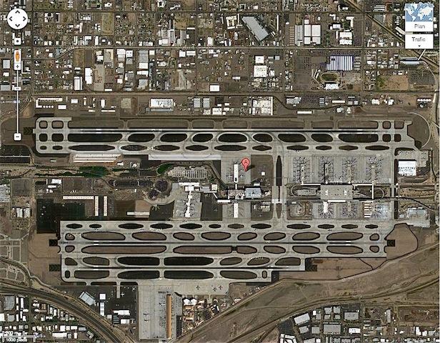 aéroport de Phoenix pistes