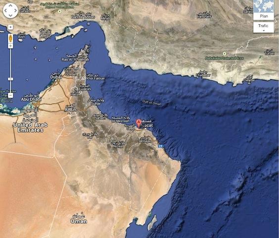 parcours abu dhabi Oman