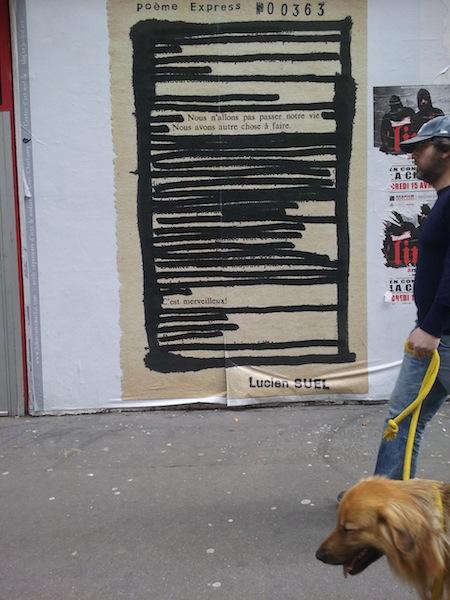 poème à lucien rue saint martin 4