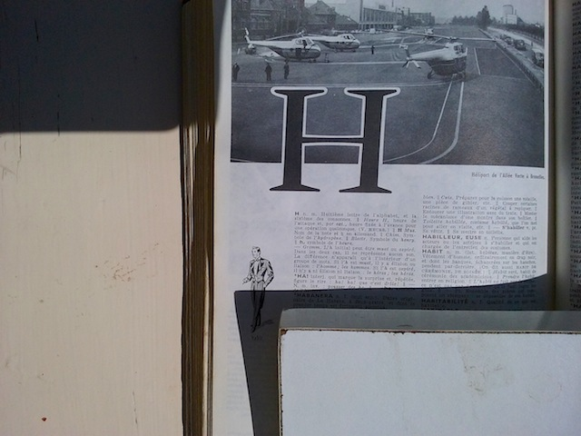 alphabet H commun