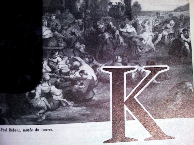 alphabet K commun