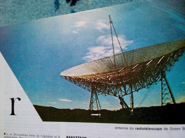 r comme radiotéléscope