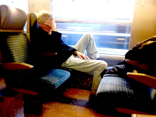 dorrmir dans le train
