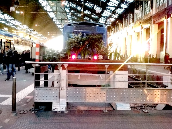 gare de lyon 20 train arrivée