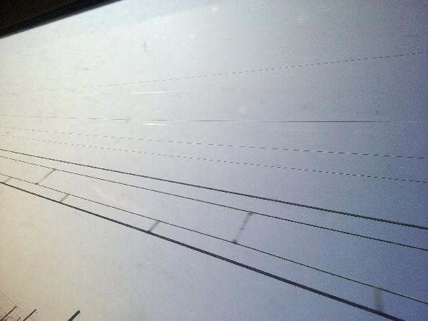 1 lignes ciel avion