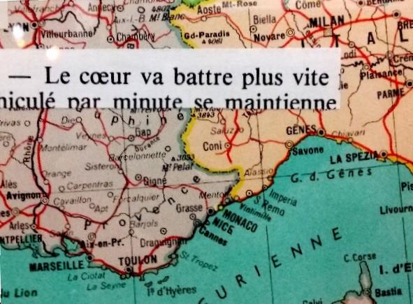 1.21 Montigny 1 carte Gênes