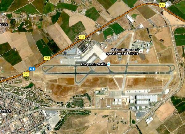 séville aéroport 1