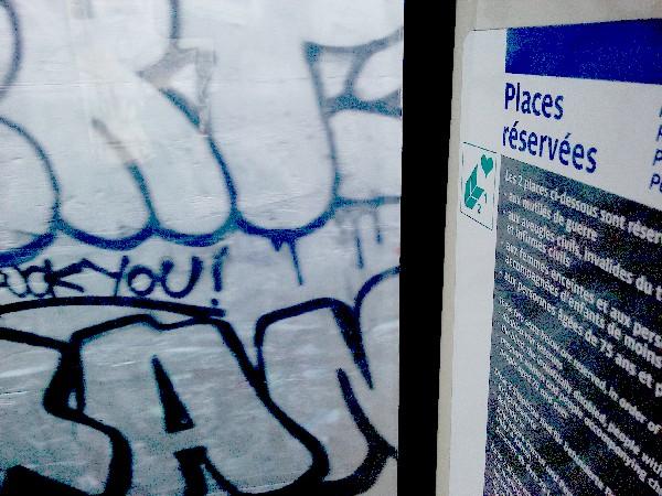 uck you places réservées