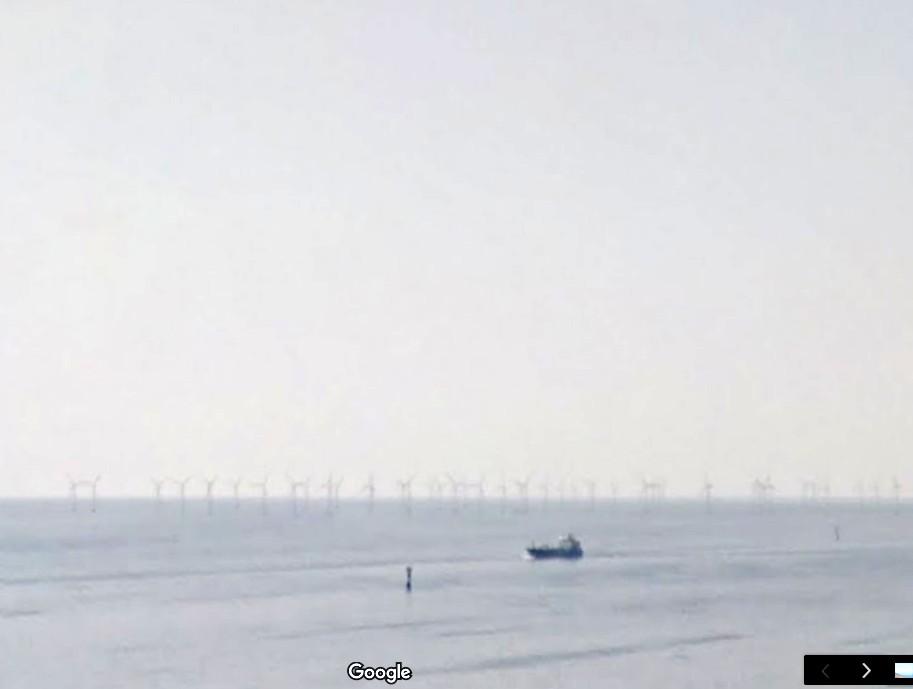 Malmö Champ d'éoliennes