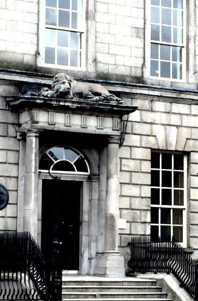 lion de Dublin